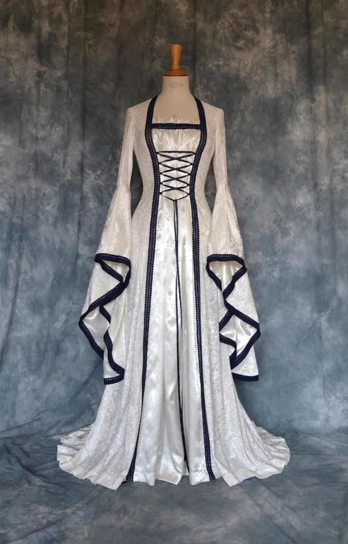Medieval elvish pre raphaelite gothic renaissance for Wedding dresses gothic style