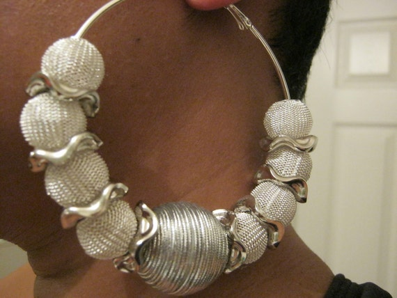 Tin Woman - Basketball Wives Inspired Hoop Earrings