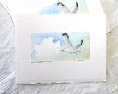 Bird Art, Black-Legged Kittiwake Artwork For Sale