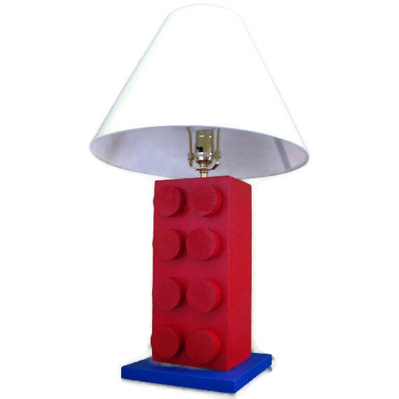 cool lamps for bedroom lego r style lamp unique bedroom decor by happywoodgoods 15003