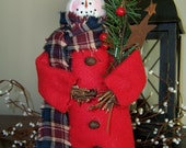 Starlight Sal the Snowman ~ Made to Order