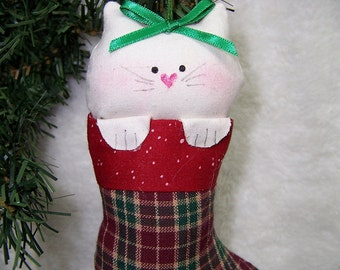 Cat Christmas Ornament