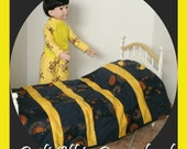 18 Inch Celestial BOY Doll Bedding Set to fit American Girl Sized Bed