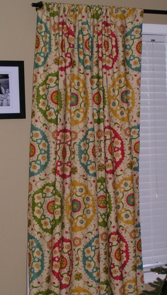 custom curtains ready to ship 50x84 rod pocket panel. Black Bedroom Furniture Sets. Home Design Ideas