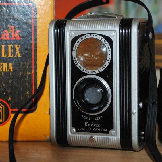 Reduced price Kodak Duaflex Camera Original Box and Instructions