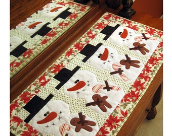 Be Merry-  Table runner Pattern