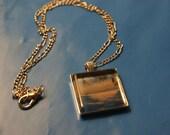 Cozumel Seascape Glass Pendant/Necklace