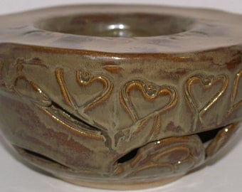 SALE! Love's Double Bowl Flowerpot
