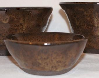 Molten Earth Bowl Set