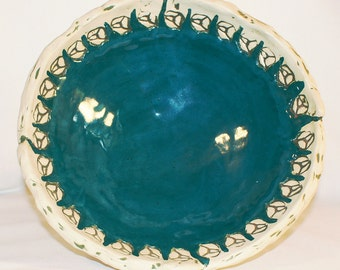 Aegean Blue Two Piece Bowl