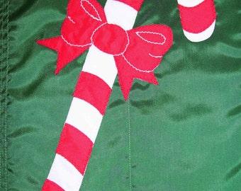 Candy Cane 12 inch by 18 inch Garden Flag
