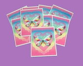 15 Thank You Cards. 15 Hearts and Butterfly Thank You Cards. 15 Thank You Tags. 2669