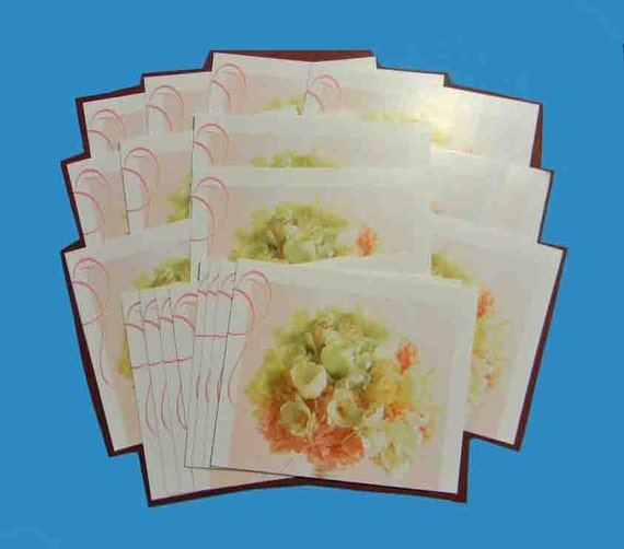 20 Thank You Cards from Upcycled Greeting Cards. 2596
