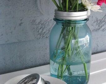 Mason Jar Flower Frog Wedding Vase- Set of 12 (no jars)