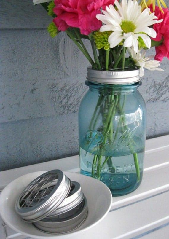 Mason Jar Flower Frog Wedding Vase- 1 frog (no jars)