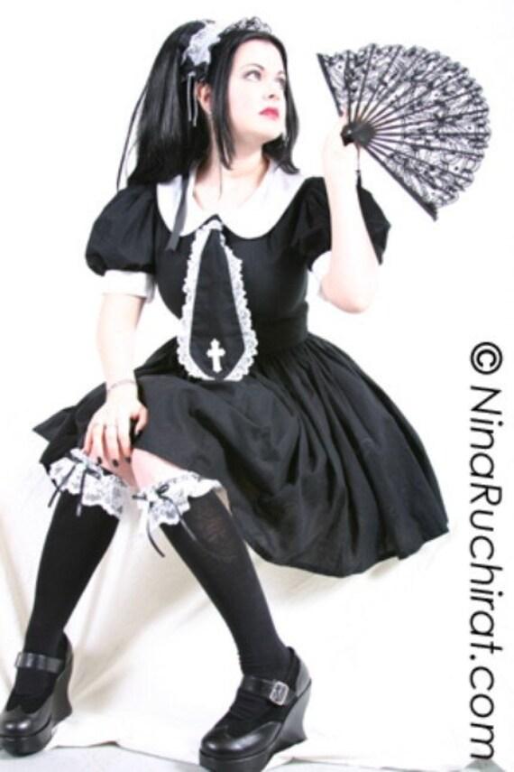 Gothic Lolita Dress Cute Schoolgirl Dress Gothic Lolita