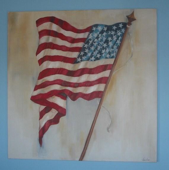 Patriotic Oil Paintings