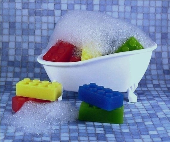 Bubbly Blocks Lego Kids Soaps