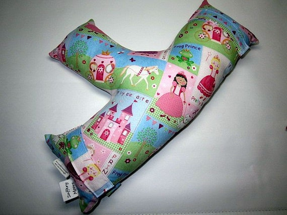 Child's Seat Belt Pillow - Princess