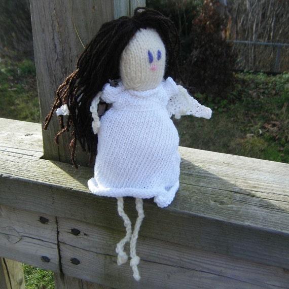 Folk Art Angel - Knitted