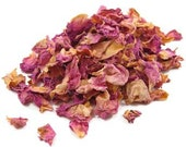 Pink Rose Petals and Buds Dried Organic