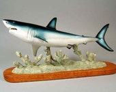 Shark Mako OOAK Sculpture - BlacknickSculpture