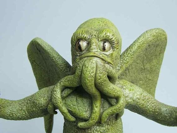 Cthulhu Horror Sculpture