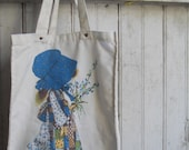 1970s vintage HOLLY HOBBIE Tote Bag