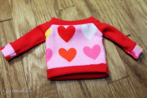 Hearts - Sweater Top