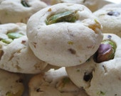 Apricot Pistachio Butter Cookies - 20 Delicious Rounds, Tea Cookies. Perfect Texture, Unbeatable Taste