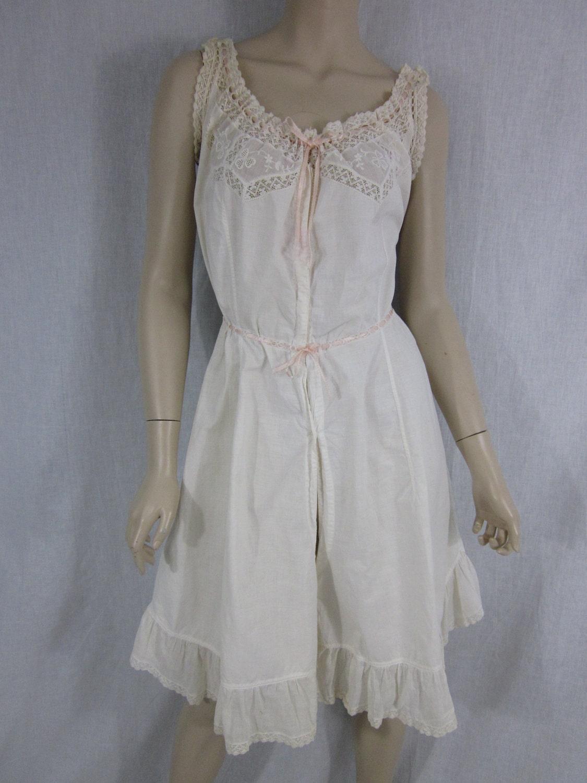 Edwardian Romper Petticoat Underwear