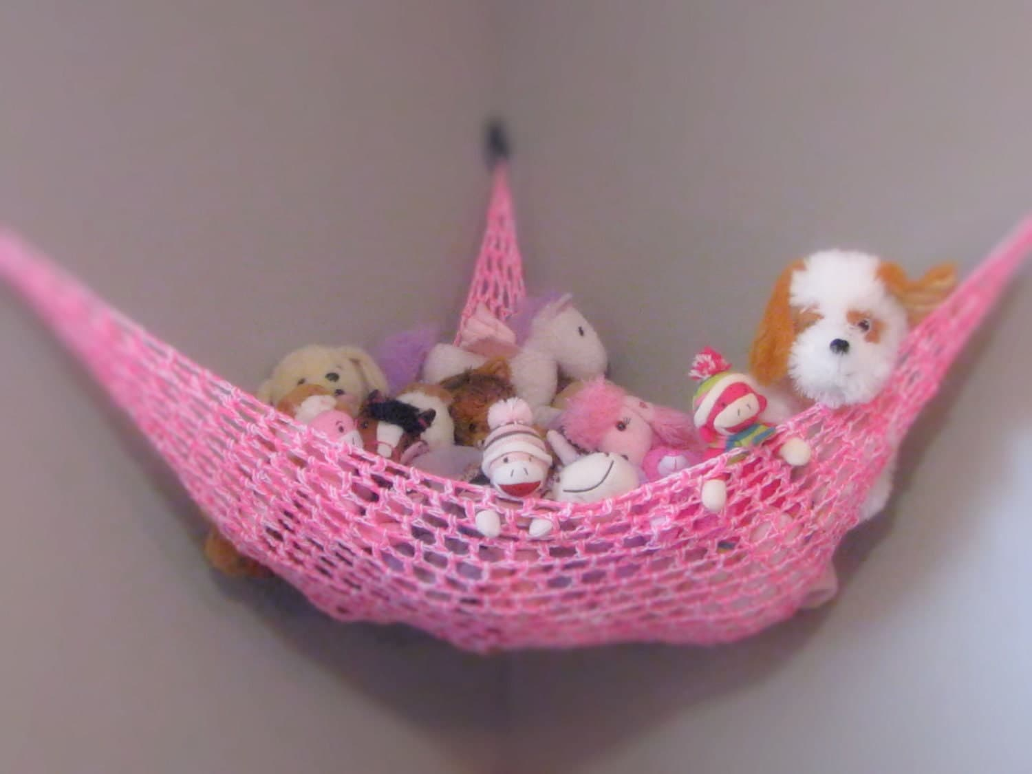 Toy Hammock Stuffed Animal Net Nursery And Childrens Room