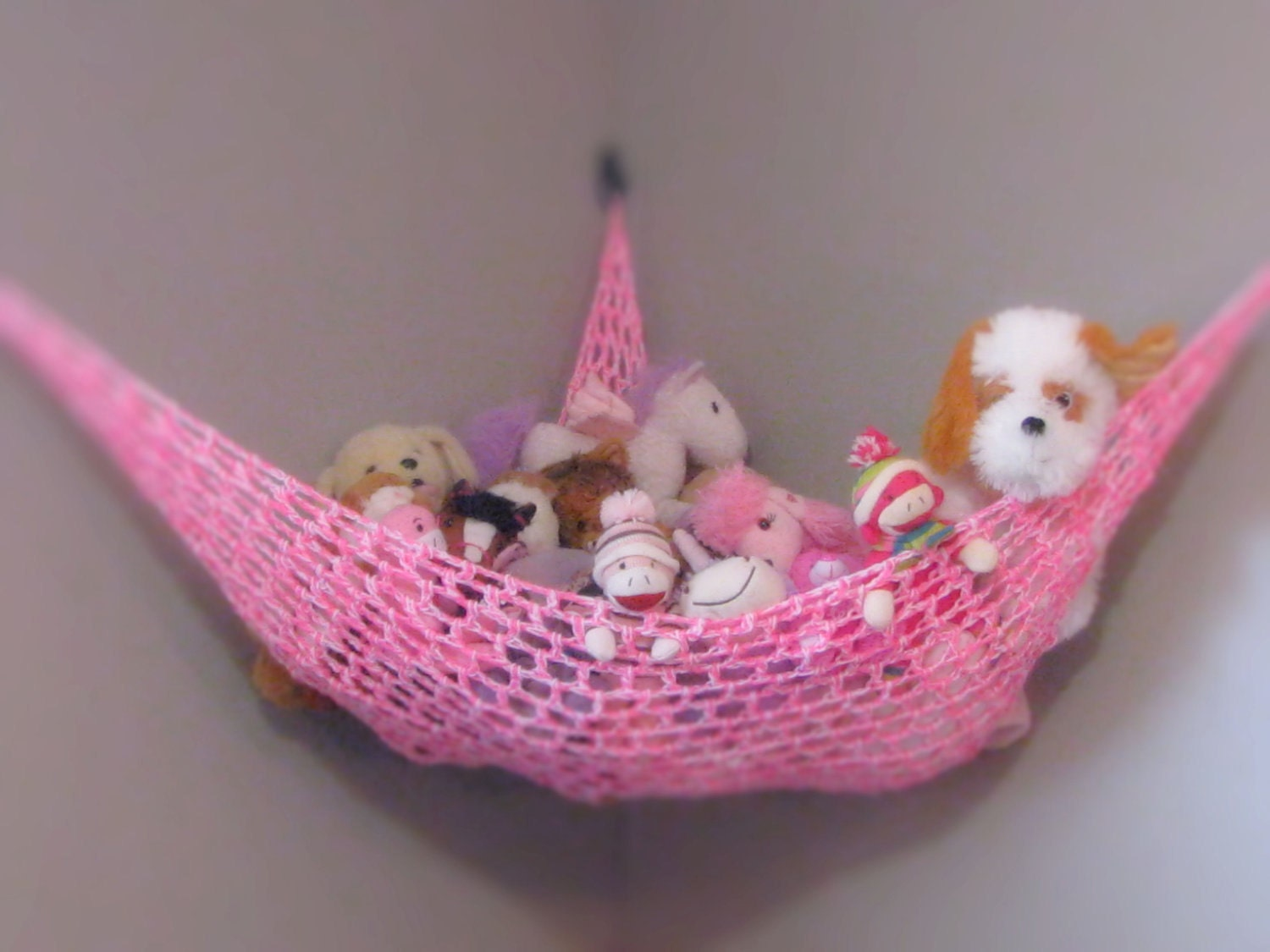 Large Toy Hammock Toy Hammock Stuffed Animal