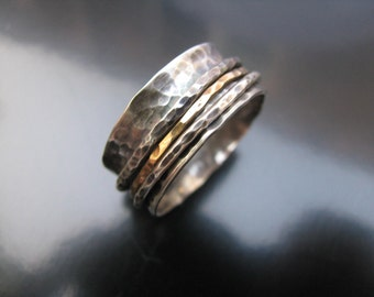 Spinner Ring,  kinetic ring, worry ring