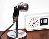 A M A Z I N G Retro Chrome Electro Voice 630 MicroPhone