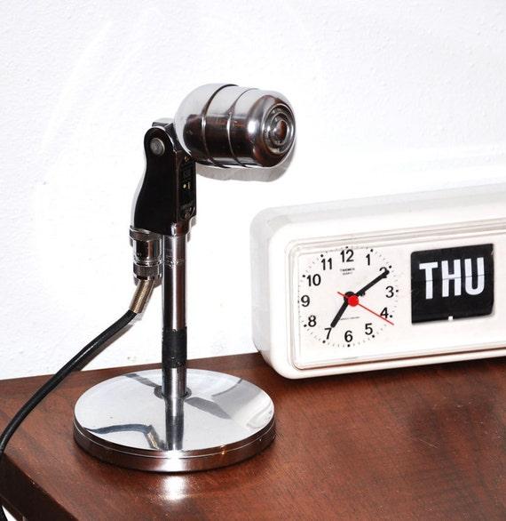 A M A Z I N G Retro Chrome Electro Voice 630 MicroPhone