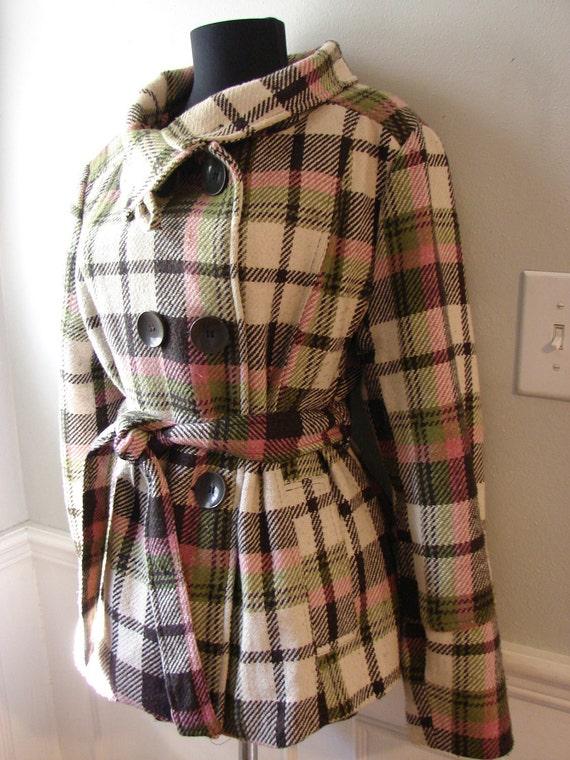 Women's Pink and Brown Coat/Jacket