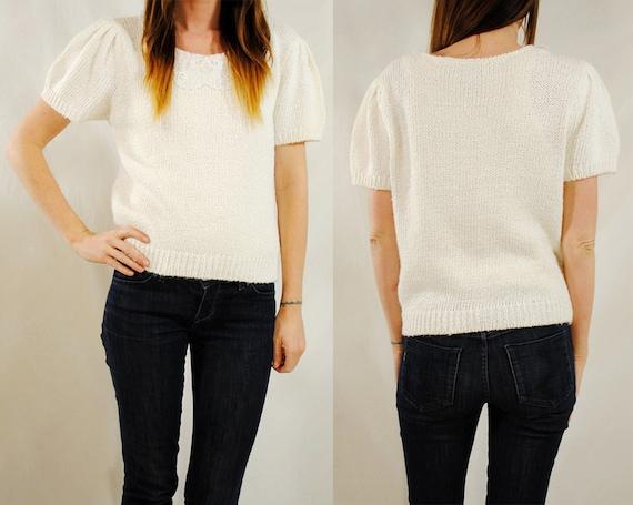 SALE- Pure N Easy- Vintage Sweater- Medium
