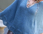 Baby It's Cold Outside Poncho - PDF Knitting Pattern