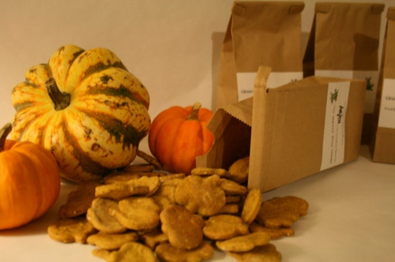 Pumpkin Organic Dog Cookies (5oz bag)