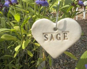 Sage Plant Marker