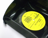 Square Vinyl Record Bowl - Ships in 72 hours of payment
