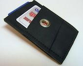 Reclaimed Rubber Money Clip Wallet - Ready to Ship