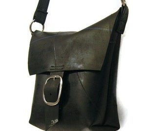 HOLIDAYSALE Large Size Traveler Hip Bag - Recycled Rubber Shoulder Bag