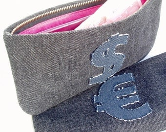 Zipped Wallet Pouch Sewing Pattern Download