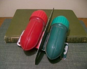 VTG Delta Rocket Bicycle or Boat Navigation Light Red/Green D Cell Battery