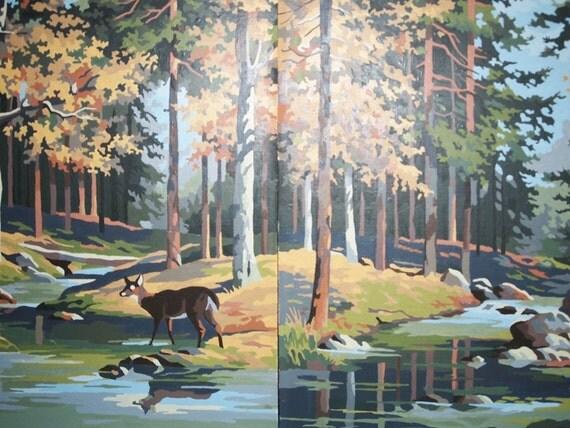 Paintings of Autumn Scenes Autumn Forest Scenes