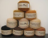 DollyMo Chunky Brushed Mohair Yarn - Buy 2 Balls & Save 10%