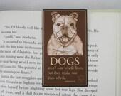 English Bulldog Magnetic Bookmark