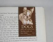 Boston Terrier - Dog lover gift  Magnetic Bookmark